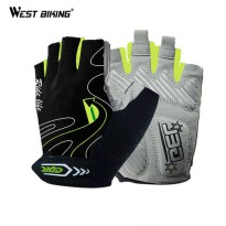 [globalbuy] Cycling Gloves Guantes Ciclismo Non-Slip Breathable Mens & Womens Summer Sport/3809935