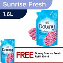 [1+1] Downy Sunrise Fresh Refill 1.6L FREE Downy Sunrise Fresh Refill 900ml