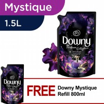 [1+1] Downy Pelembut Pakaian Mystique Refill 1.5L FREE Downy Mystique Refill 800ml
