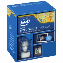 (Termurah) Processor + Deepcool Fan Intel I5- 4460 quad core 3,2 ghz Original