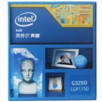 (Termurah) Processor + Deepcool Fan Intel G 3260 3.3g Haswell - 1150 - Original