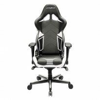 (Termurah) Gaming Chair DXRacer Racing Pro OH/RV131/NW Black,White-Cover PU Leath