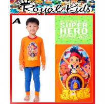 PJRK4A - Pyjamas Royal Kids Neverland Pirates