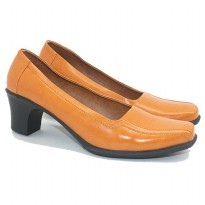 Dr.Kevin Ladies Formal Shoes Edelweiss 43214 TAN