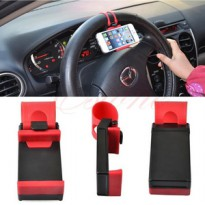 car holder / universal steering wheel phone socket holder