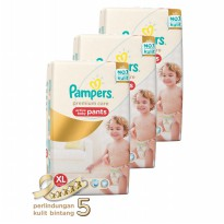 Pampers Premium Care Popok Celana XL-54 - Isi 3
