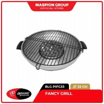 New Maspion Fancy Grill 33 cm - Panggangan BBQ Kompor Gas Serbaguna