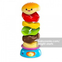 Bright Starts Stack & Spin Burger