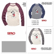 BRANDED UNISEX SPAO MICKEY SHIRT