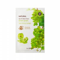 The Saem Natural Skin Fit Mask Sheet [Green Grape]