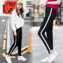 KOREAN STYLE ★ Spandex Slacks Pants Collection/Celana Panjang/Celana Jogger/Celana Wanita