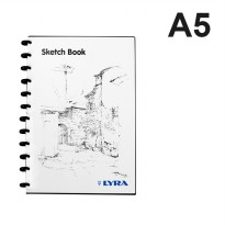 Lyra Sketch Book A5 (isi 30)