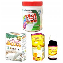 ASI Booster Bundling Tea, Mama Soya dan Mama Honey