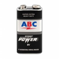 Batre ABC 9 Volt - Original High Quality