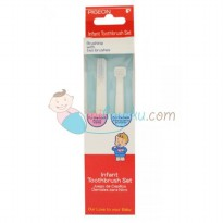 Pigeon Infant Toothbrush Set Size 2pcs Color White Age 9M+