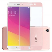 HMC Oppo Neo 9 / A37 - 2.5D Full Screen Tempered Glass + Lis Rose Gold