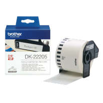 Brother Label Tape DK-22205 Continuous Length Paper Tape-Master Dealer