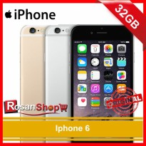 iPhone 6 32GB ( Gold , Grey , Silver ) Original 100% Garansi resmi 1th