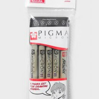 Sakura Pigma micron Manga Drawing Set