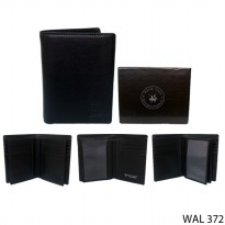 Leather Wallet For Male Kulit Hitam – WAL 372