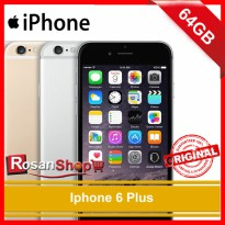 iPhone 6 Plus 64Gb Original 100% Ex Internasional Garansi 1thn ( grey, Gold, SIlver )