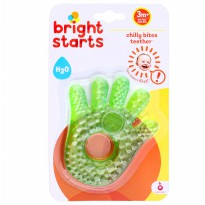 Mainan Bayi Bright Starts Chilly Bites Water Teether H2O Filled-Hand