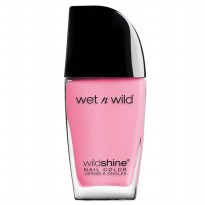 Wet N Wild Wild Shine Nail Color - Tickled Pink