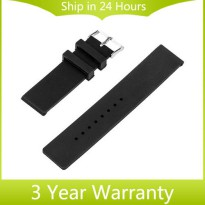 [globalbuy] 20mm Silicone Rubber Strap for Samsung Gear S2 Classic (SM-R7320) Moto 360 2 G/3202899