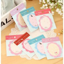 ~Cutevina~ 3 pcs Post it / Note Paper / Sticker Memo / Sticky note Mirror