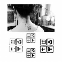 HO3601 - Tattoo Symbol HC100