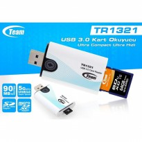 Card Reader Team TR1321 SD Card,& Micro SD Reader USB 3.0