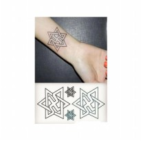 HO3297 - Tattoo Pentgram HC67