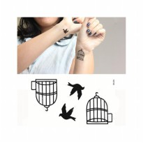 HO3296 - Tattoo Burung HC60