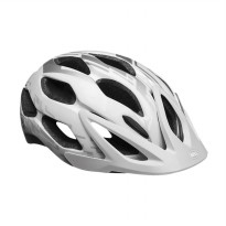 Bell BS Indy Zeta 14 US Helm Sepeda - Silver White 7040832