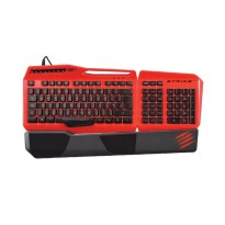 Madcatz S.T.R.I.K.E. 3 Gaming Keyboard for PC - Red