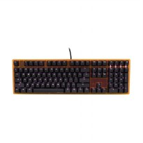 Ducky ONE DKON1508S-RUSADATW1 Keyboard Full Size White LED Red Switch Gaming Keyboard - [Frame Orang