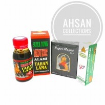 Paket Bundle Tissue Magic + Hajar Jahanam + Madu Super Tonik 6x Dahsyat Tahan Lama