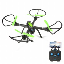 JJRC H27WH Quadcopter with 2.4G Wifi FPV Altitude Hold UVA RC Drones with 2.0MP HD Camera - Hitam