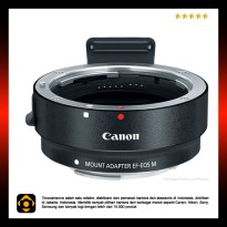 Canon EOS EF to EOS M adapter
