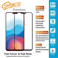 Grace Premium OnePlus 6 - Tempered Glass Full Screen - Full Glue - Lis Hitam