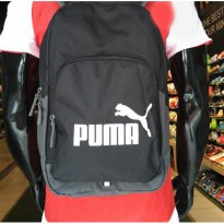 TAS - PUMA Phase Large School Backpack ORIGINAL #07358901 BLACK Murah
