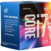 (Termurah) Processor Intel Core i7-6700 6th Gen 8M Cache, up to 4.00 Ghz BOX