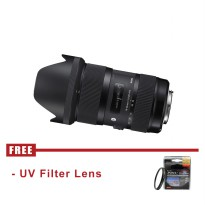 Sigma 18-35mm f/1.8 DC HSM Art Lens for Canon - FREE UV Filter