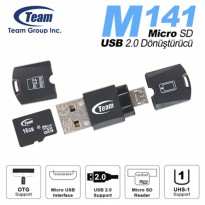 Card Reader TEAM OTG Product M141 USB 2.0 - TM141B01