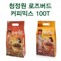 Chungjungwon Rosebud Coffee Mix 100 pieces (1.2kg) (Original / Mocha Gold) (disposable coffee / 100P coffee)