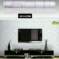 Wallpaper Sticker 10m Motif Kotak Kotak