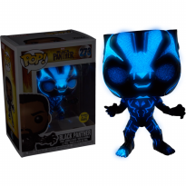 Funko POP Marvel Black Panther (Movie) (Glow in the Dark) (Exclusive)