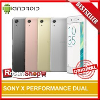 SONY X PERFORMANCE DUAL - ORIGINAL 100% - GAransi 1thn