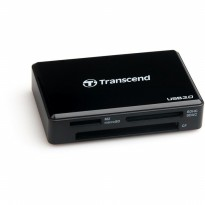 Card Reader USB 3.0 Transcend RDF8 All in 1 Multi - Black & White