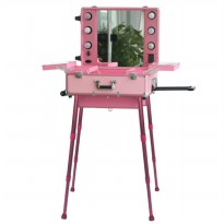 Seongnam Beauty Case With Standing - Pink